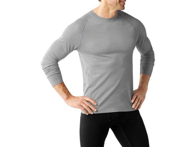 Smartwool Merino 150 Baselayer Pattern Long Sleeve Men Light Gray